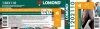 LOMOND XL Self-Adhesive Matt Inkjet Photo Paper, матовая, 90 г/кв.м, 329 мм, 20 м (1202110)