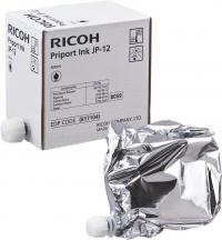 RICOH Краска Ink Cartridge Pack Type JP12 (black), 5 шт. (817104)