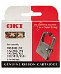 OKI 43503602 Black Ribbon Cartridge