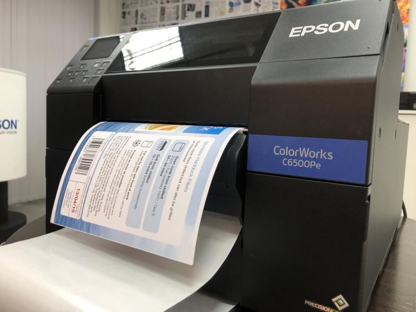Печать этикеток по требованию с принтерами Epson