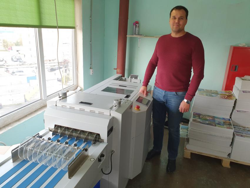 Первый в России ротационный вырубщик Morgana RDC увеличит производственные мощности компании Матрица