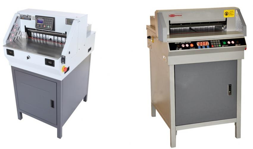 Выбираем автоматические бумагорезательные машины формата А3+