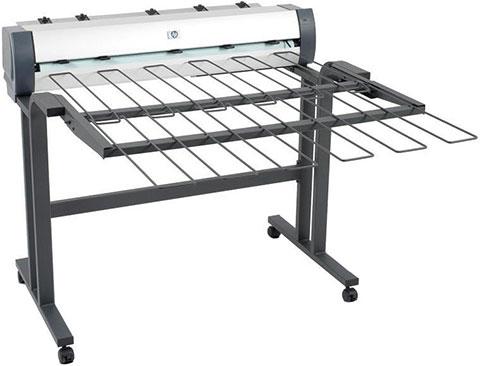Выбор плоттера CAD/GIS для печати больших объемов. Автоукладчик HP T7200