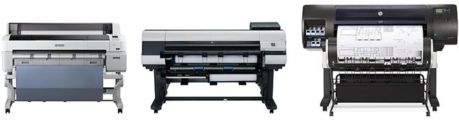 Выбор плоттера CAD/GIS для печати больших объемов. Лидеры обзора