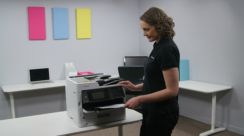 Epson WorkForce Pro WF-C5000. Технология PrecisionCore