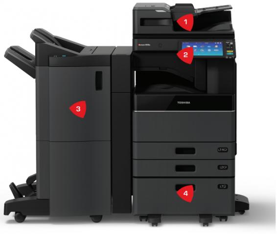 Toshiba e-STUDIO — производительный универсал для требовательных офисов