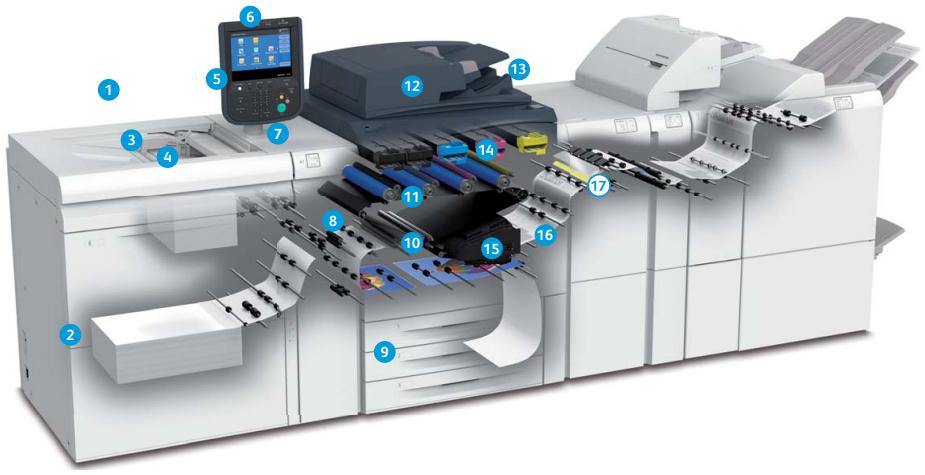 Печатные машины Xerox Versant 180 Press