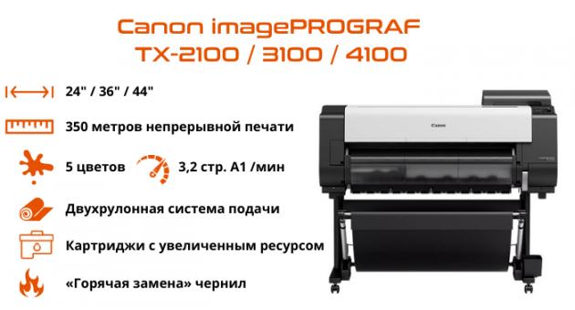 Передовые технологии для инженерной печати от Canon
