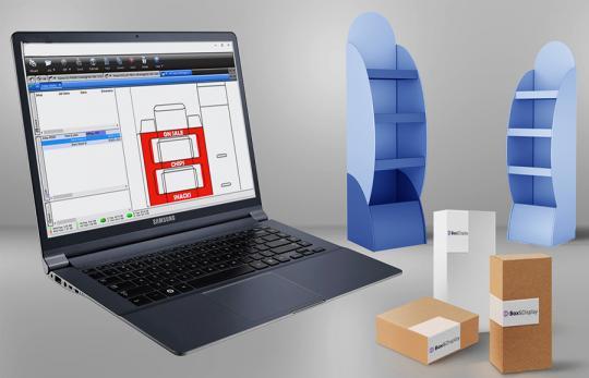 Создать упаковку быстро и просто - возможно с SAi Box and Display