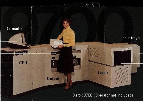 Xerox 9700 Electronic Printing System