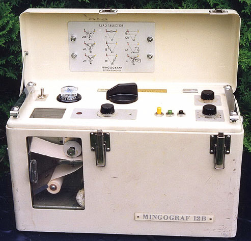 Mingograph Siemens 12 B 1954