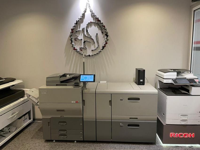 Цифровая печать по офсетному картону: в белорусской компании «Экопак» прошла инсталляция ЦПМ Ricoh Pro C5300s